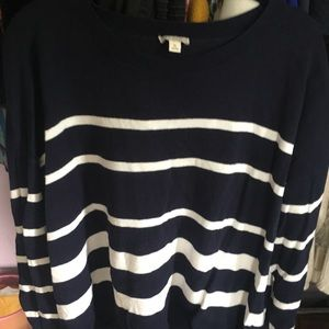 GAP Striped Sweater - Sz XL